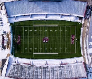 UMass Football Field
