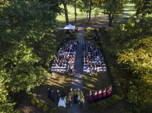 Wedding Ceremony at Springfield Country Club